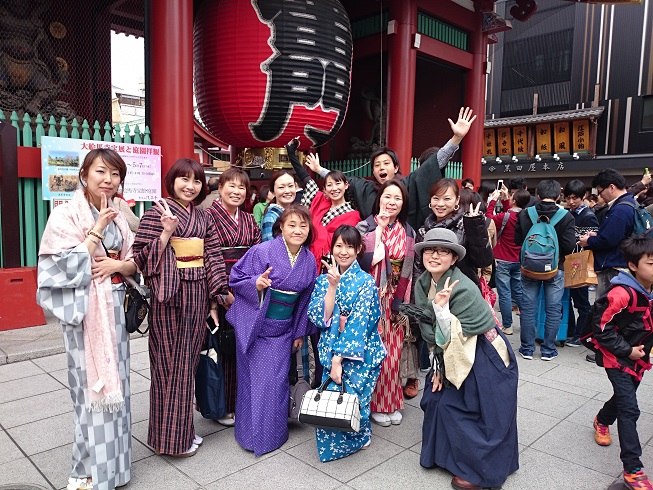 Sightseeing course recommended by Asakusa Navi.