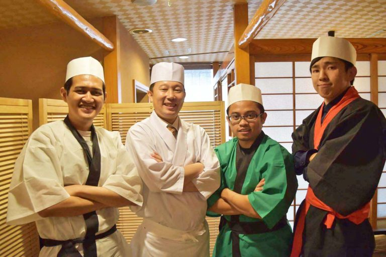 Japan food culture - Sushi making experience