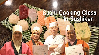 """You Tube"" Try Sushi Cooking Class ~Sushiken Asakusa~"