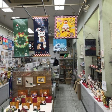 A lucky cat and lucky's specialty store Asakusa Kappabashi Koide shop紹介画像